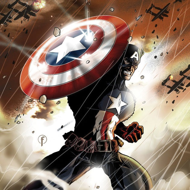 fasoli Awesome Captain America illustration showcase