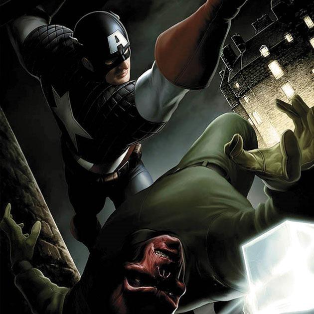 jprt art Awesome Captain America illustration showcase