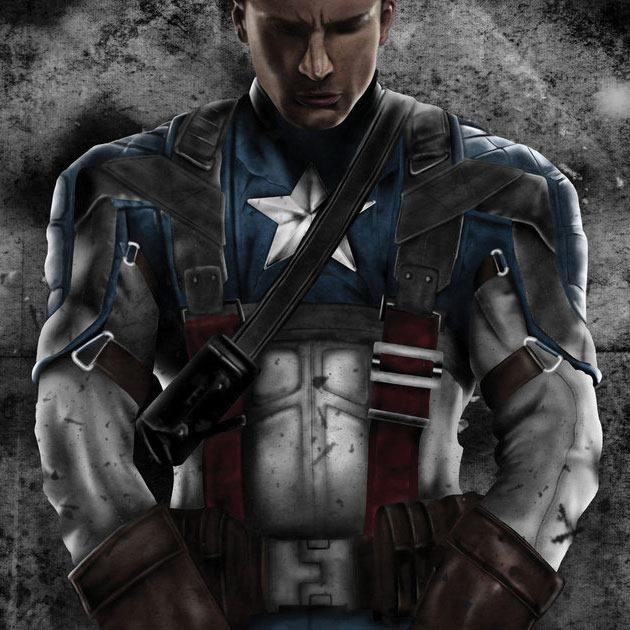 quainart captinamerica Awesome Captain America illustration showcase