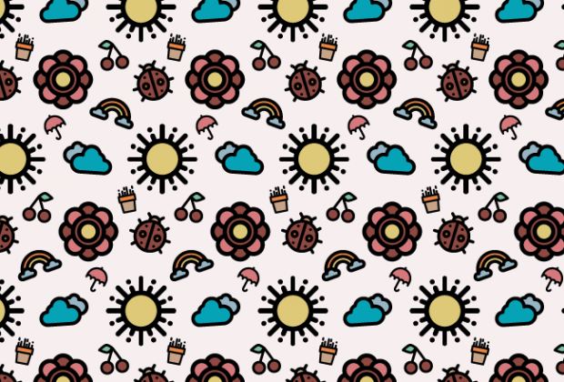spring-pattern