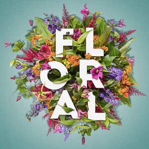 Floral Text Effect - 600