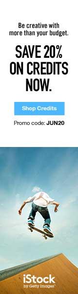 IStock Sale - 20% Off Credits