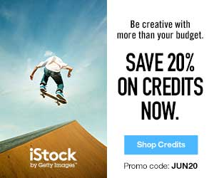 IStock - Save 20% on Credits