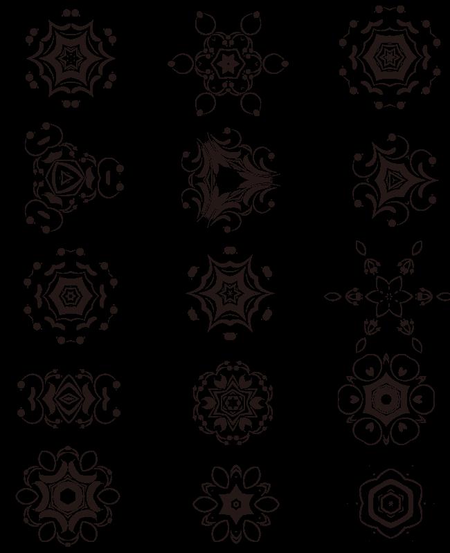 decorative elements edition 4 15 free unique decorative vector elements Edition #4