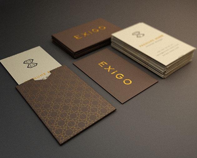exigo 100 Must see creative unique business card designs