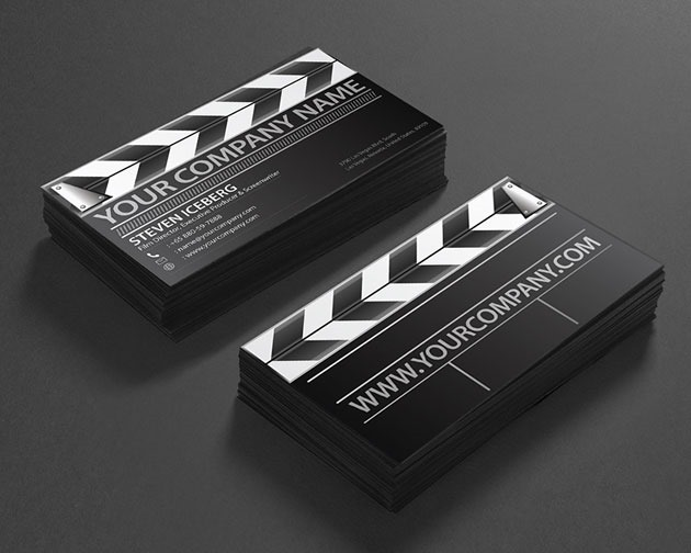 film director 100 Must see creative unique business card designs