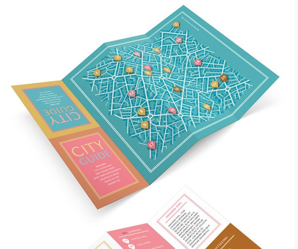 fold out 60 best tutorials for learning InDesign