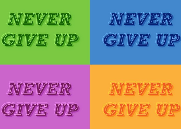 never give up Best of the web for Design and Web Development June 2016