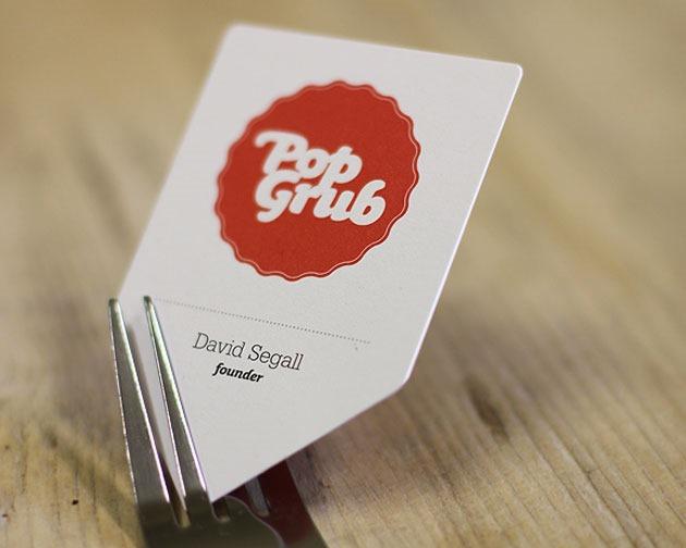 popgrub 100 Must see creative unique business card designs