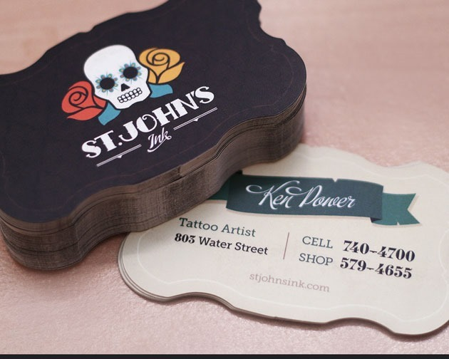 st jonh 100 Must see creative unique business card designs