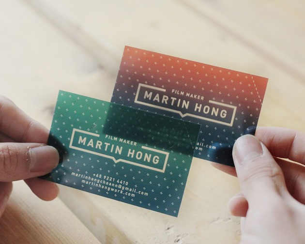 transparent cards 100 Must see creative unique business card designs