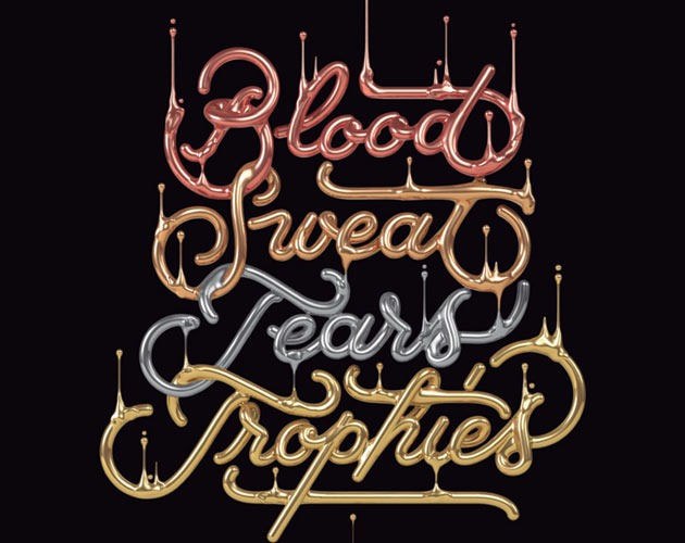 blood sweat 50 beautiful must see examples of creative typography
