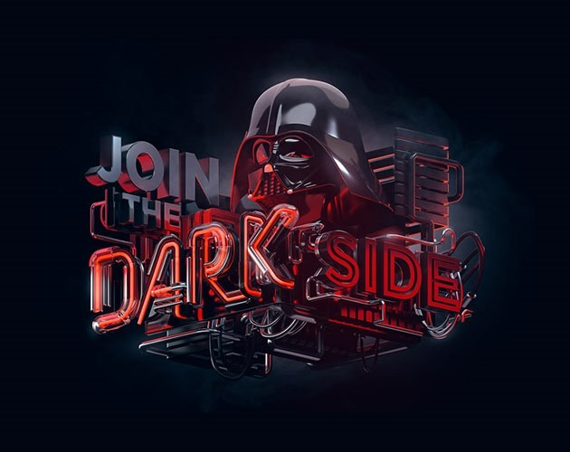 join darkside 50 beautiful must see examples of creative typography