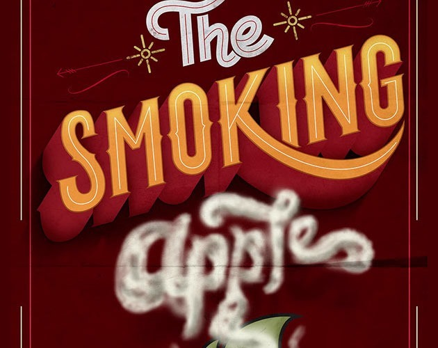 smokeig apple 50 beautiful must see examples of creative typography