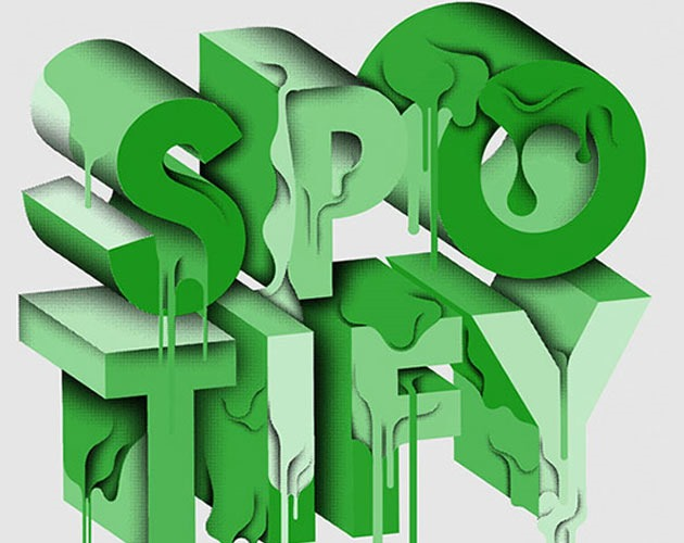 spotify 50 beautiful must see examples of creative typography