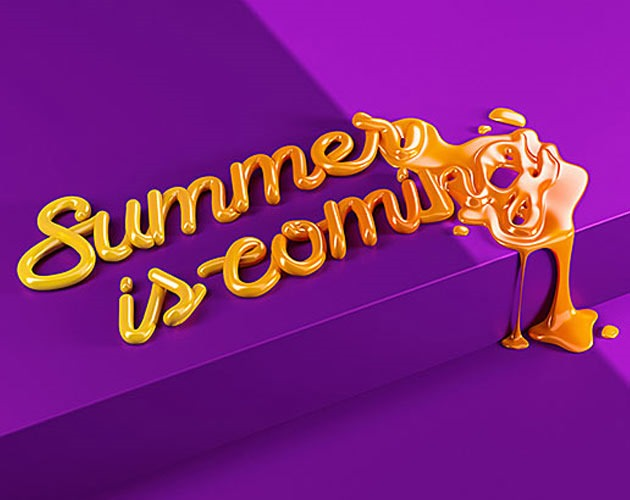 summer coming 50 beautiful must see examples of creative typography