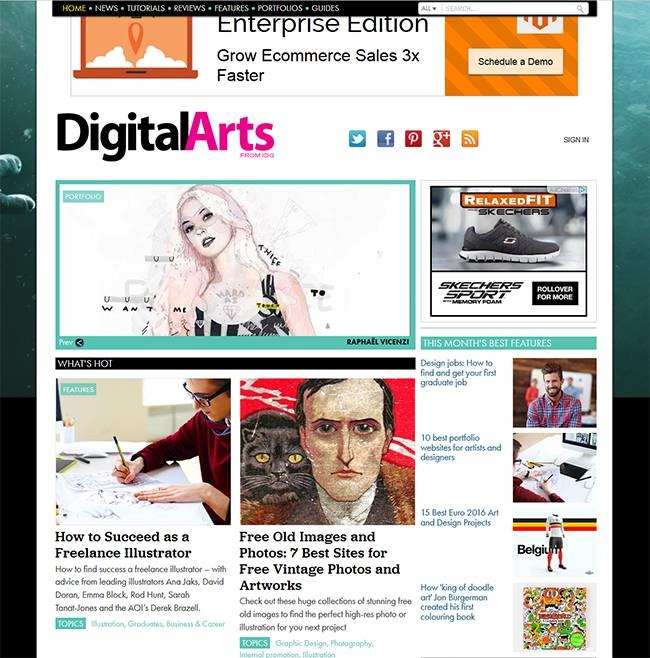 digital arts Must read blogs for learning or mastering Photoshop and Illustrator