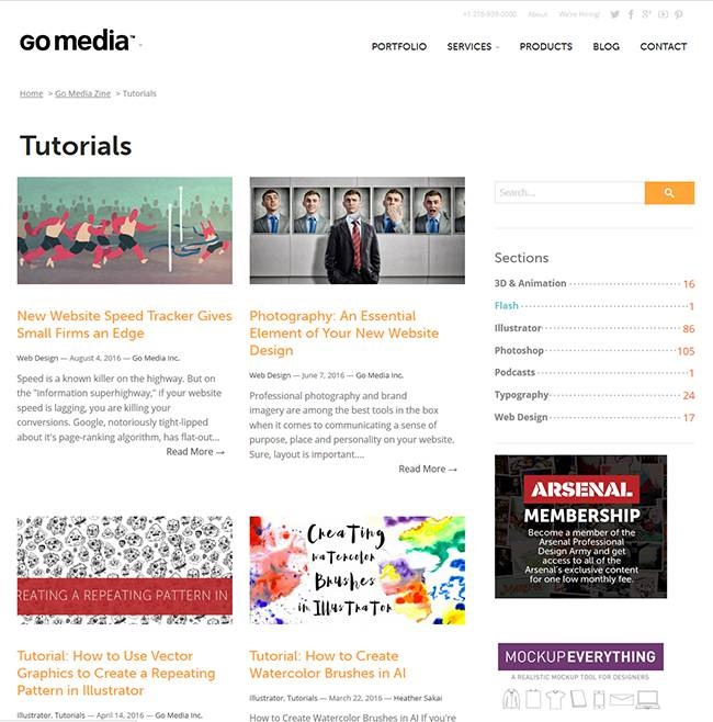 go media Must read blogs for learning or mastering Photoshop and Illustrator