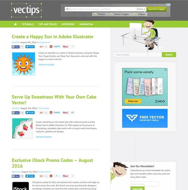 vector tips Must read blogs for learning or mastering Photoshop and Illustrator