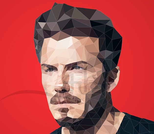 beckham 20 Beautiful examples of Low Poly design illustrations