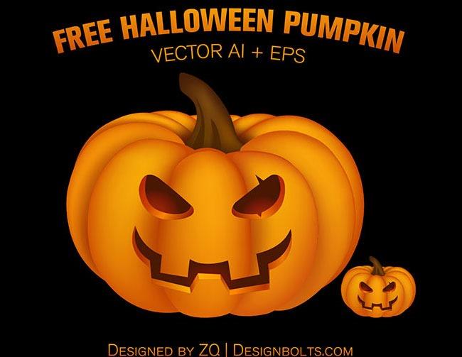 halloween pumpkin 40 Essential free Halloween vectors and icons