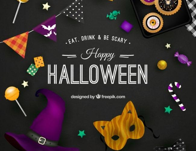 happy halloween 40 Essential free Halloween vectors and icons