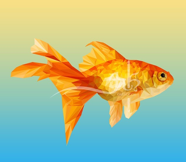 lowpoly fish 20 Beautiful examples of Low Poly design illustrations