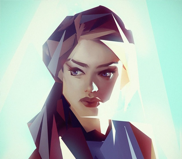 portait 2 20 Beautiful examples of Low Poly design illustrations