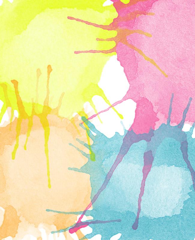 watercolor paint blobs photoshop brush set Watercolor paint blobs free Photoshop brush set