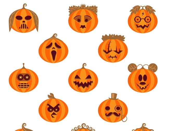 wicked wall 40 Essential Halloween vectors and icons