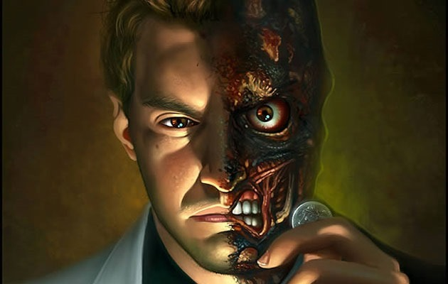 two face 1 20 Photoshop tutorial for creating scary themed effects