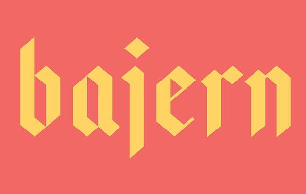 bajern 50 best free fonts from 2016