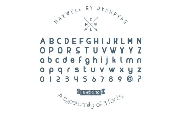maxqwll 50 best free fonts from 2016