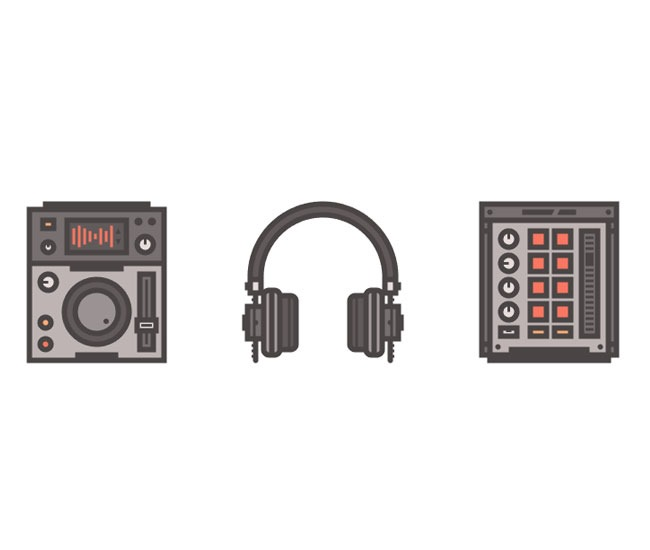 music icons 60 best Illustrator tutorials from 2016