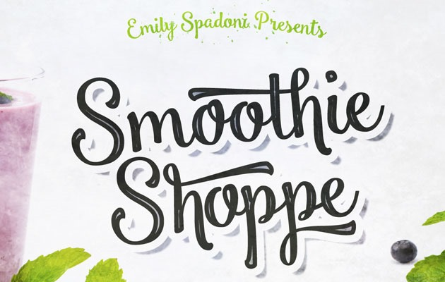 smoothie shoppie 50 best free fonts from 2016