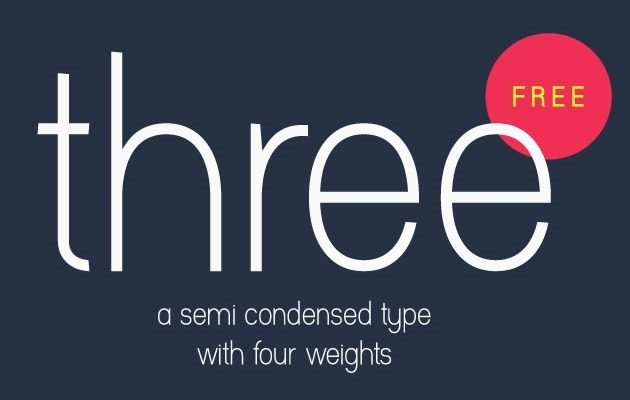 three 50 best free fonts from 2016
