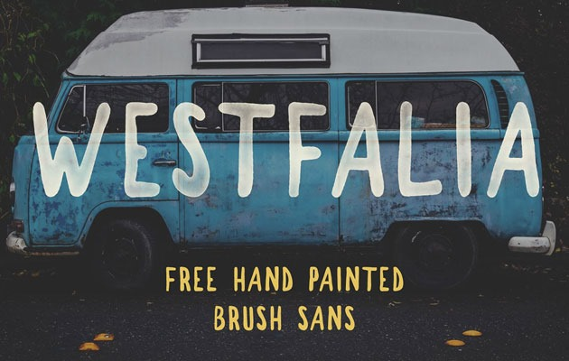 westfalia 50 best free fonts from 2016
