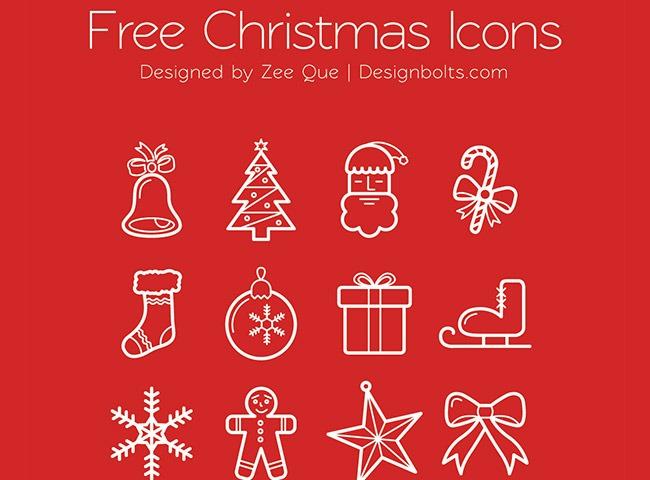 beautfil christmas icons 25 Free Christmas themed icon sets