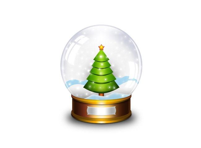 globe 25 Free Christmas themed icon sets