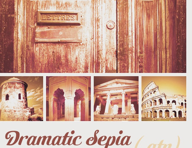 sepia 20 Popular photo effects you can recreate using free Photoshop actions
