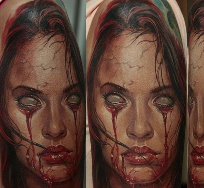 blind 35 Mind blowing realistic tattoo designs
