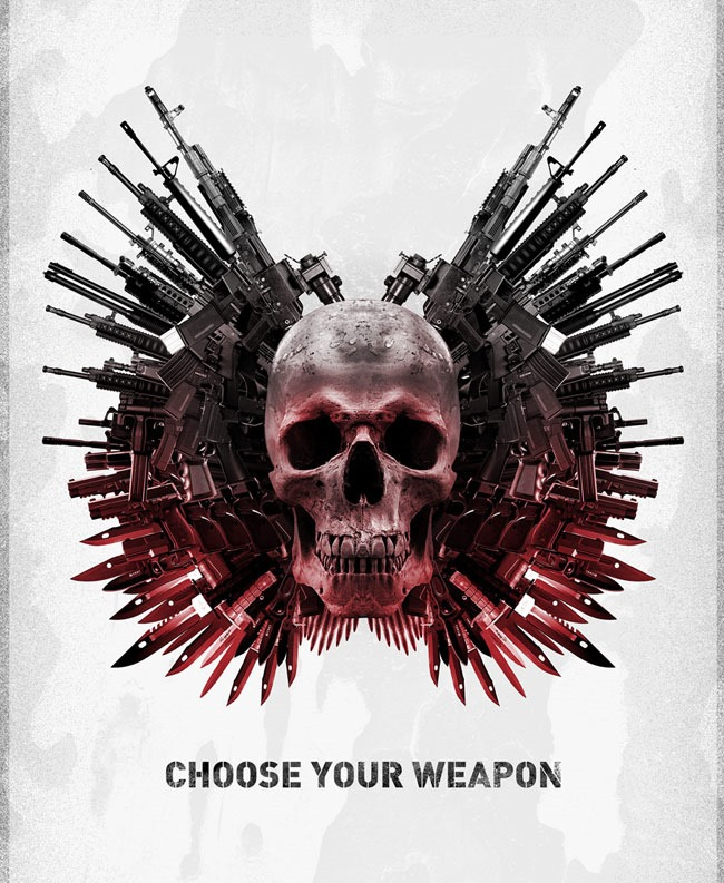 choose your weapan 20 Photoshop tutorials for creating movie posters