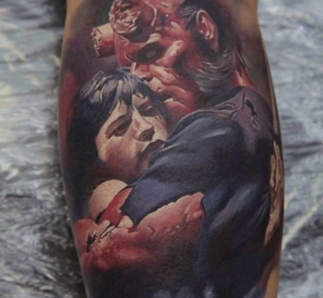 hellbpy 35 Mind blowing realistic tattoo designs