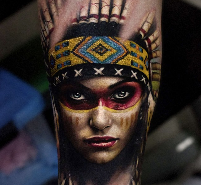 indian 35 Mind blowing realistic tattoo designs