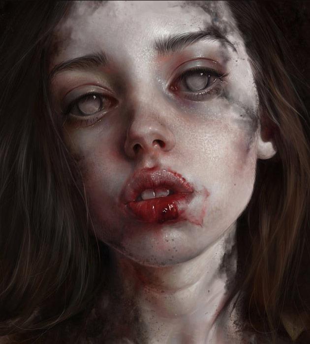 its me 25 Beautiful realistic digital art portraits