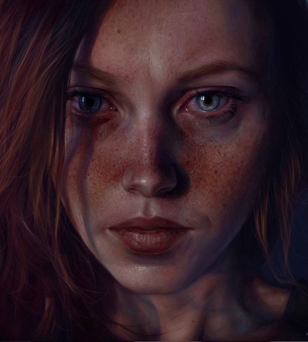 j 25 Beautiful realistic digital art portraits