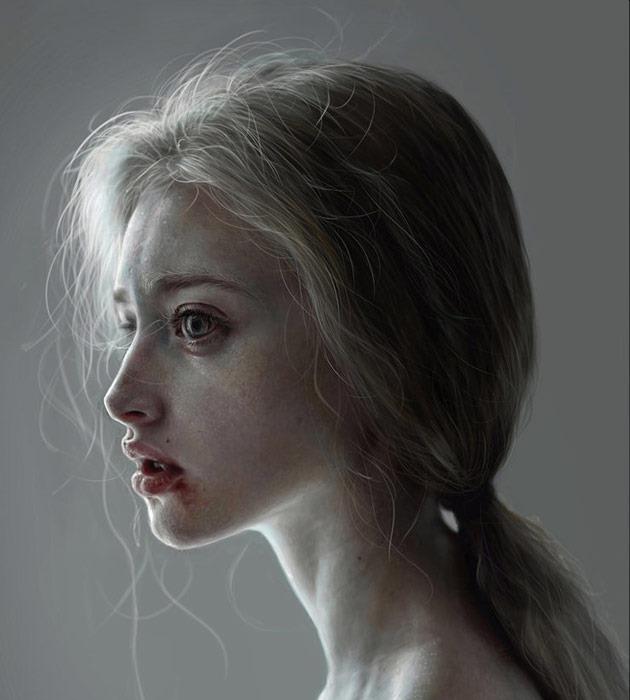 lrlr 25 Beautiful realistic digital art portraits