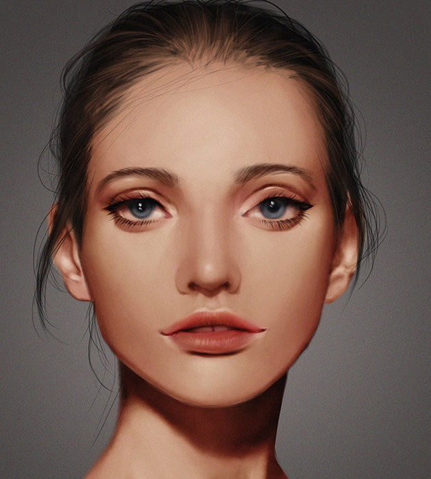 practice 25 Beautiful realistic digital art portraits