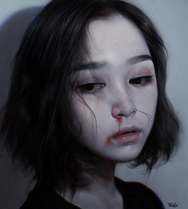 ren 25 Beautiful realistic digital art portraits