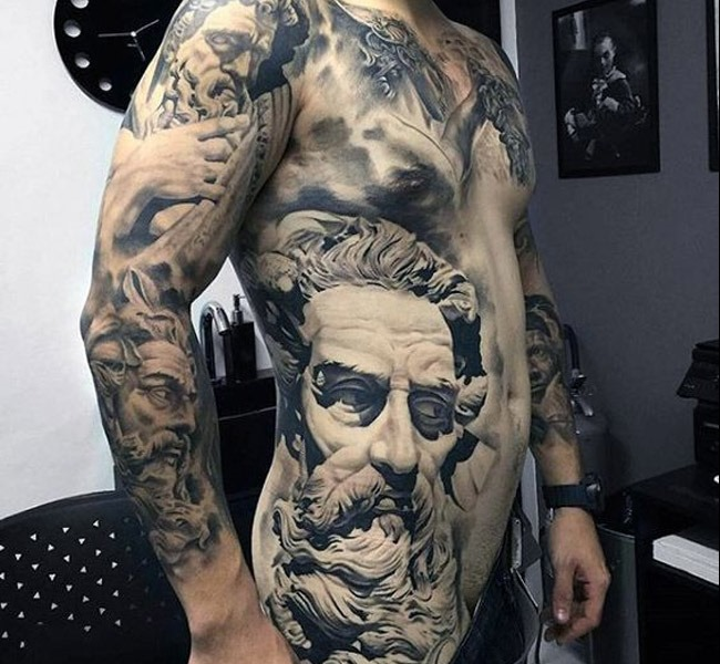 rome 35 Mind blowing realistic tattoo designs